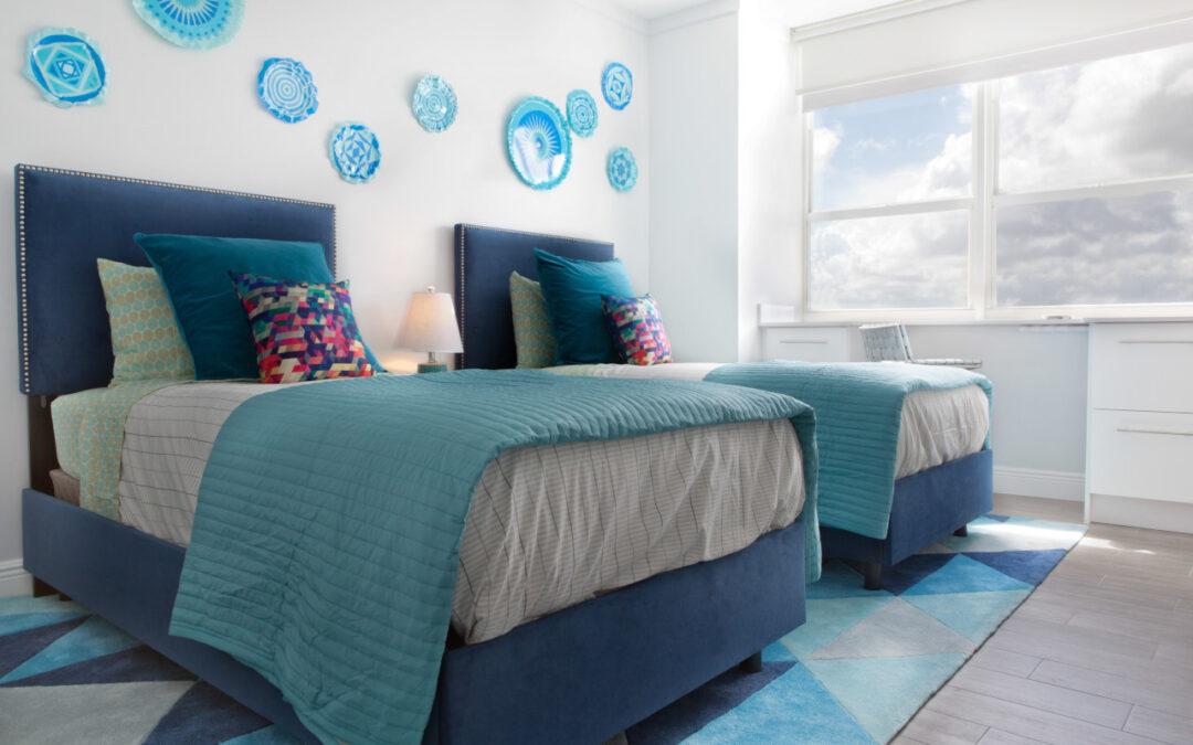 Sypialnia w stylu marynistycznym, czyli morskie inspiracje